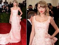 Taylor Swift de Oscar de la Renta. Como sempre super delicada <3